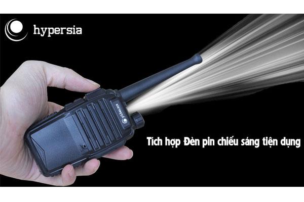Tích hợp đèn pin chiếu sáng