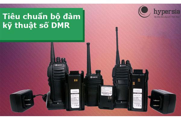 Tìm hiểu tiêu chuẩn máy bộ đàm cầm tay kỹ thuật số DMR