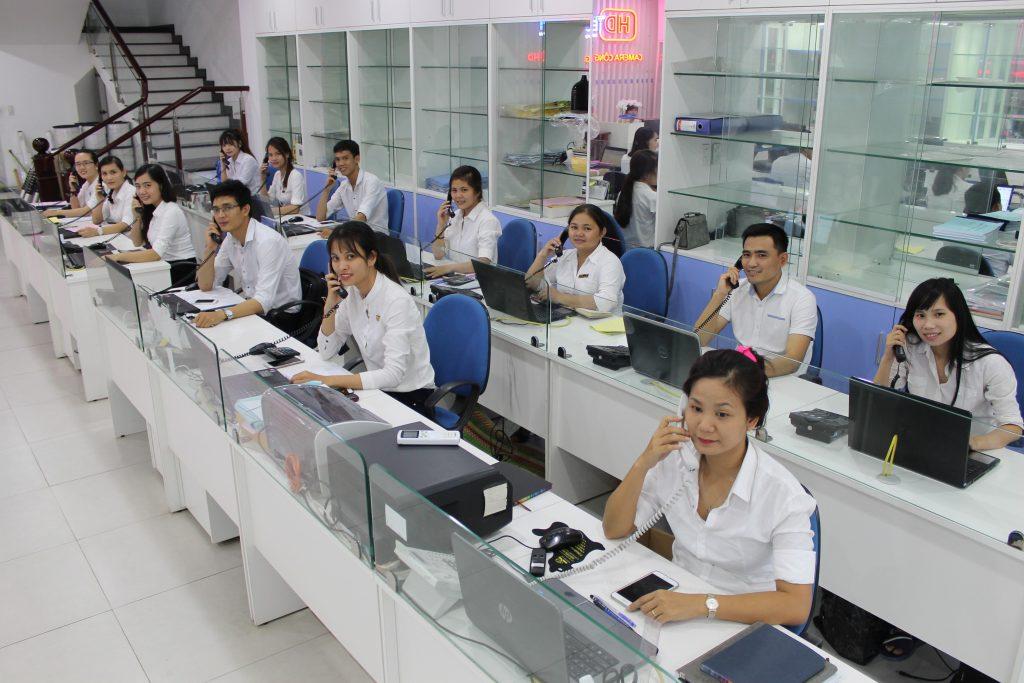 Đội ngũ nhân viên Lê Hoàng
