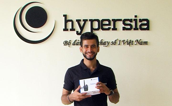 Chính sách mở đại lý phân phối bộ đàm Hypersia Singapore