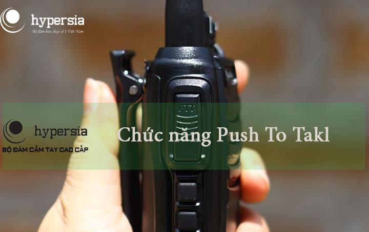 Tìm hiểu chức năng Push-To-Talk của bộ đàm