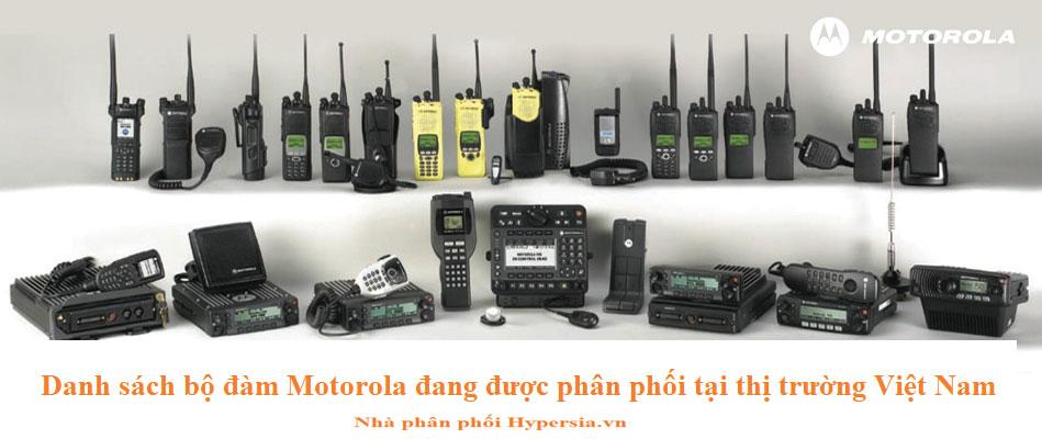 Các sản phẩm motorola đang bán tại Việt Nam