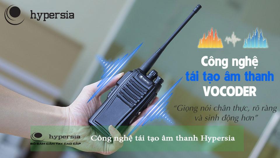 Công nghệ tái tạo âm thanh trong điện thoại của Hypersia